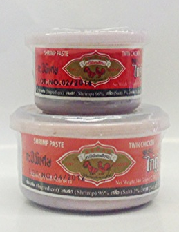 Shrimp Paste   Twin Chicken   SHP1010 24x6 oz  SHP1009 24x12 oz  SHP1011 12x35 oz