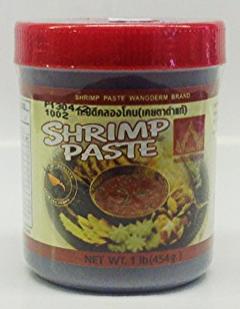 Shrimp Paste (Klong Kone)   Wangderm   SHP1019 24x8 oz  SHP1020 24x16 oz  SHP1021 12x2 lbs