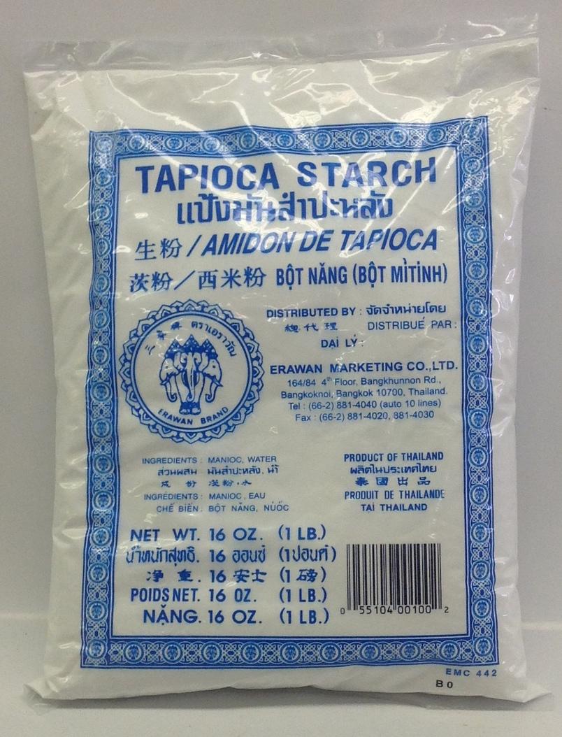 Tapioca Starch   Erawan   FL17730 24x16 oz