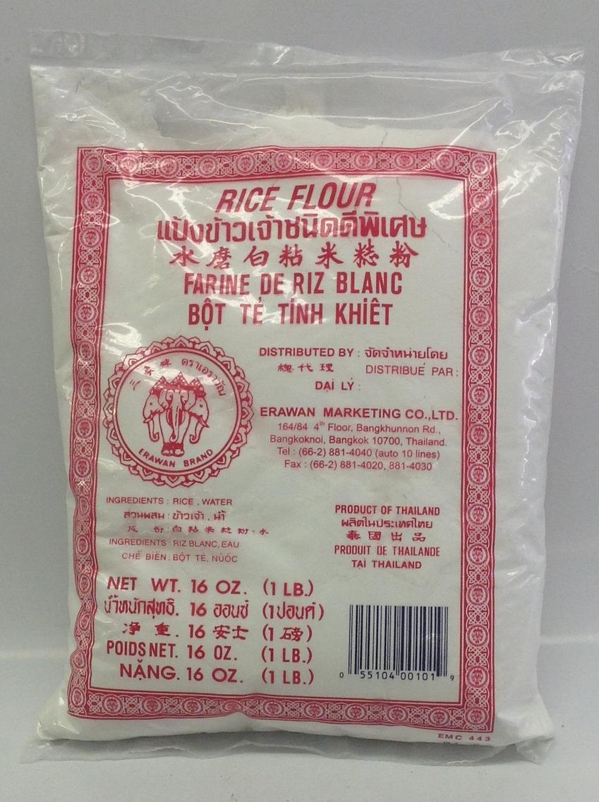 Rice Flour   Erawan    FL16300 24x16 oz