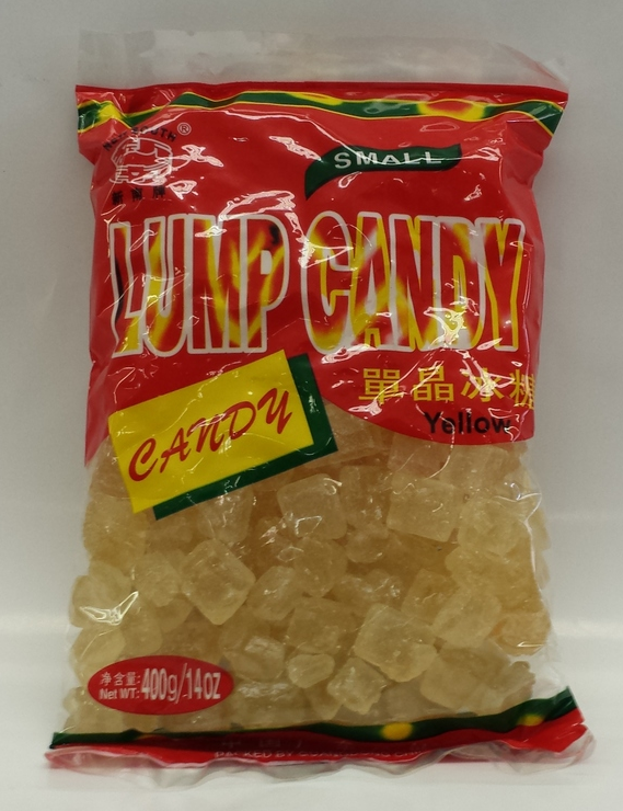 Yellow Lump Candy, Small   New South   SU18305 50x400 g