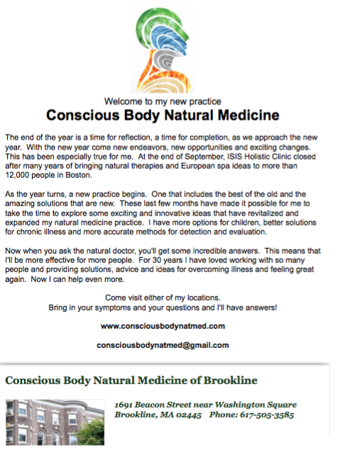 New Practice Newsletter November 2014