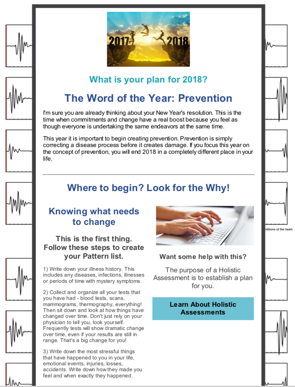 New Year Newsletter 2018