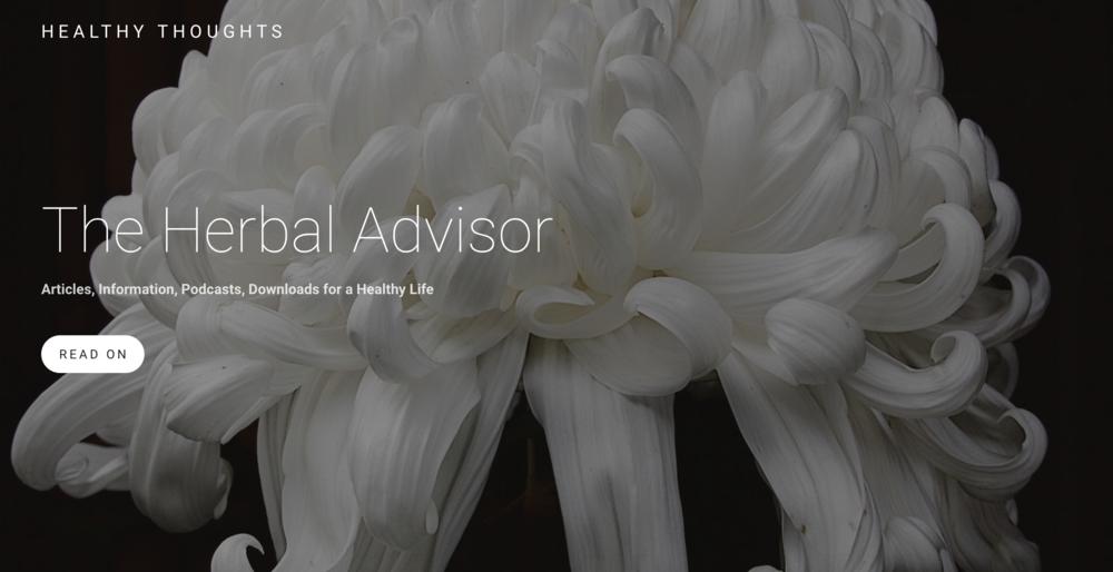 Herbal Advisor Website Open Page.png