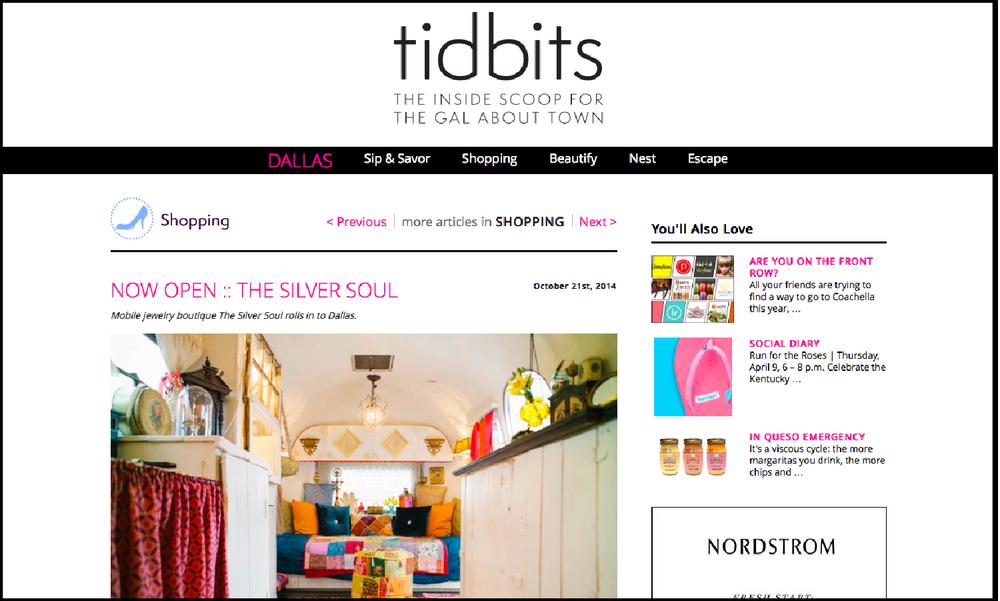 Tidbits |  The Silver Soul