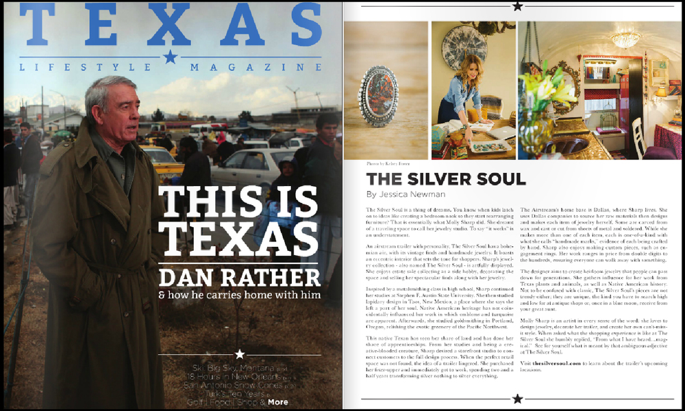 Texas Lifestyle Magazine |  The Silver Soul