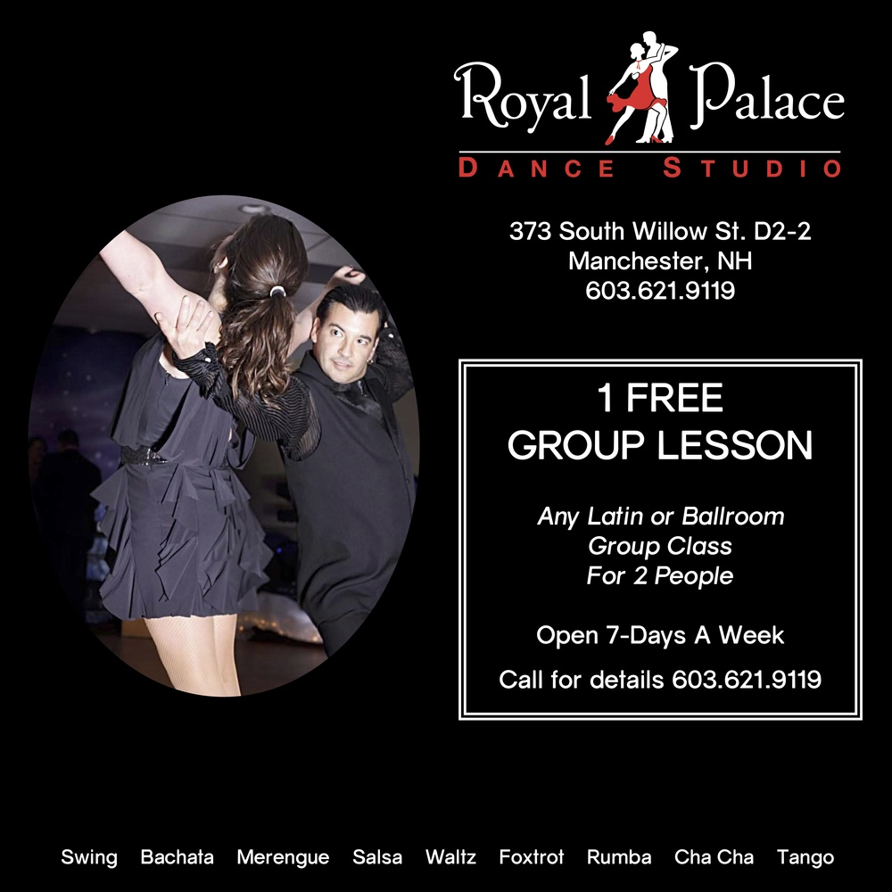 free group class royal palace dance studio