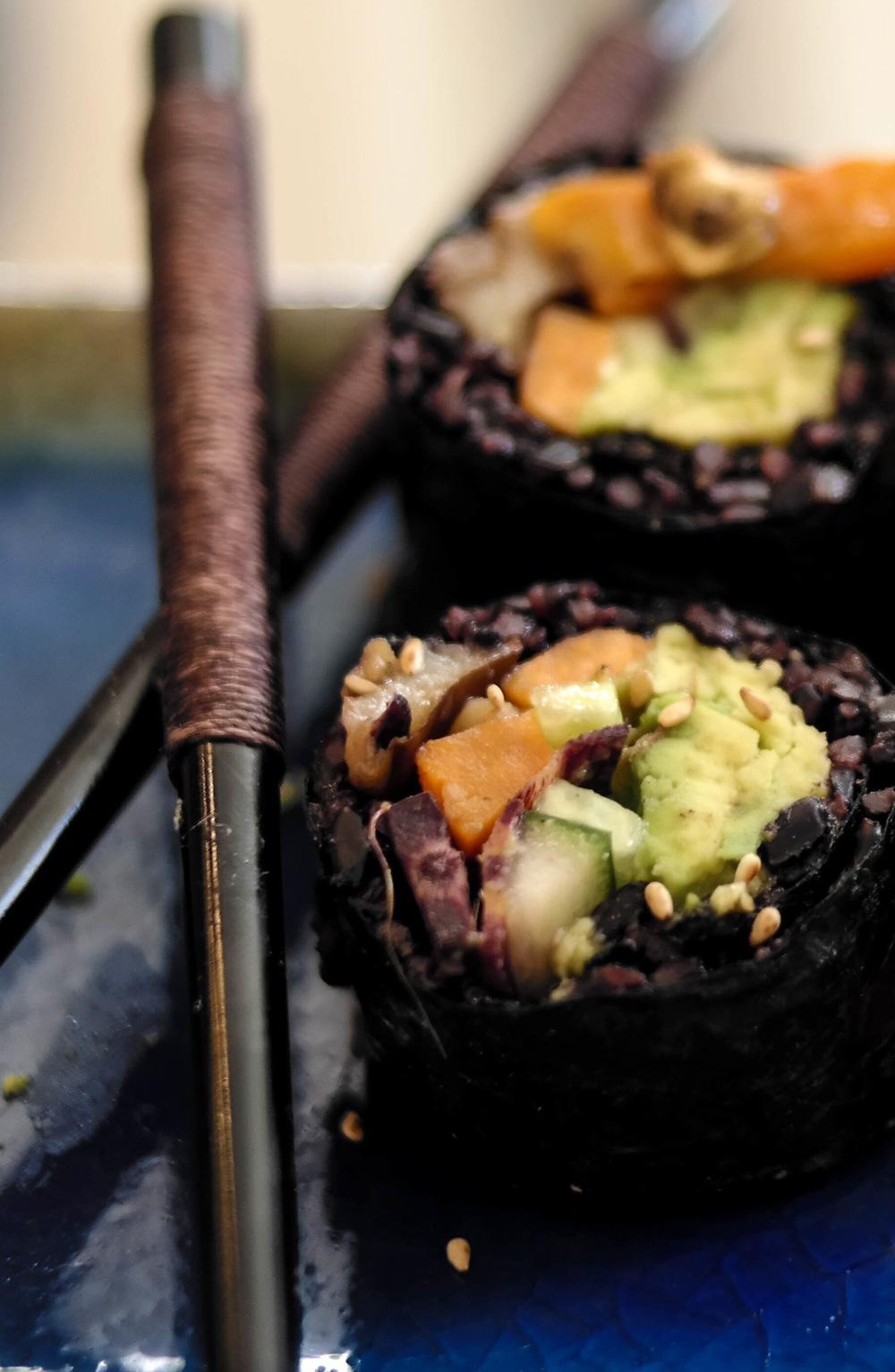 4-Forbidden-Rice-Sushi-Rolls | www.8thandlake.com.jpg