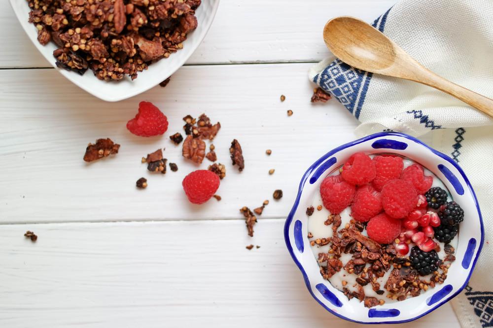 7-Cruncky-Chocolate-Granola | www.8thandlake.com