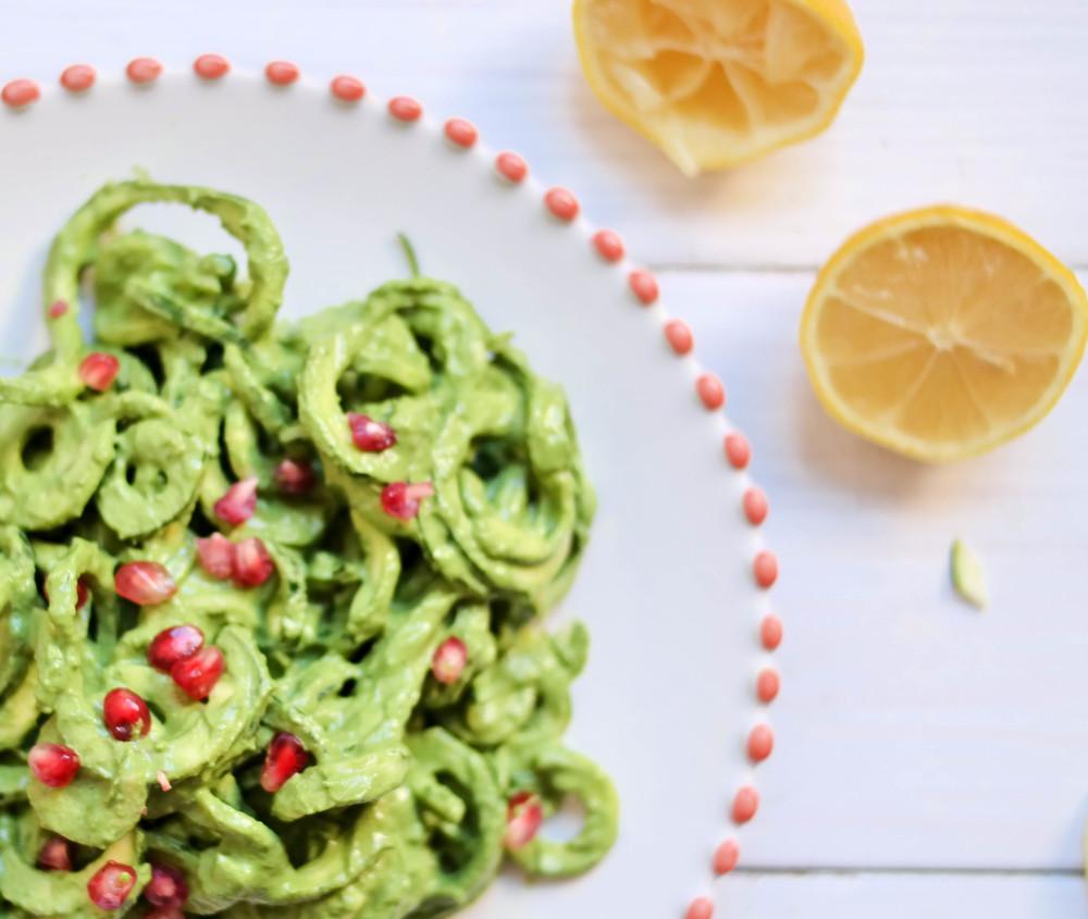 4-Zucchini-Noodle-Pasta-with-Creamy-Pesto | www.8thandlake.com