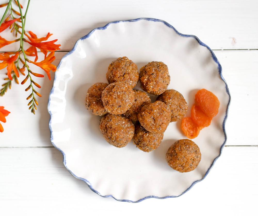 Apricot-Coconut-Energy-Bites | www.8thandlake.com