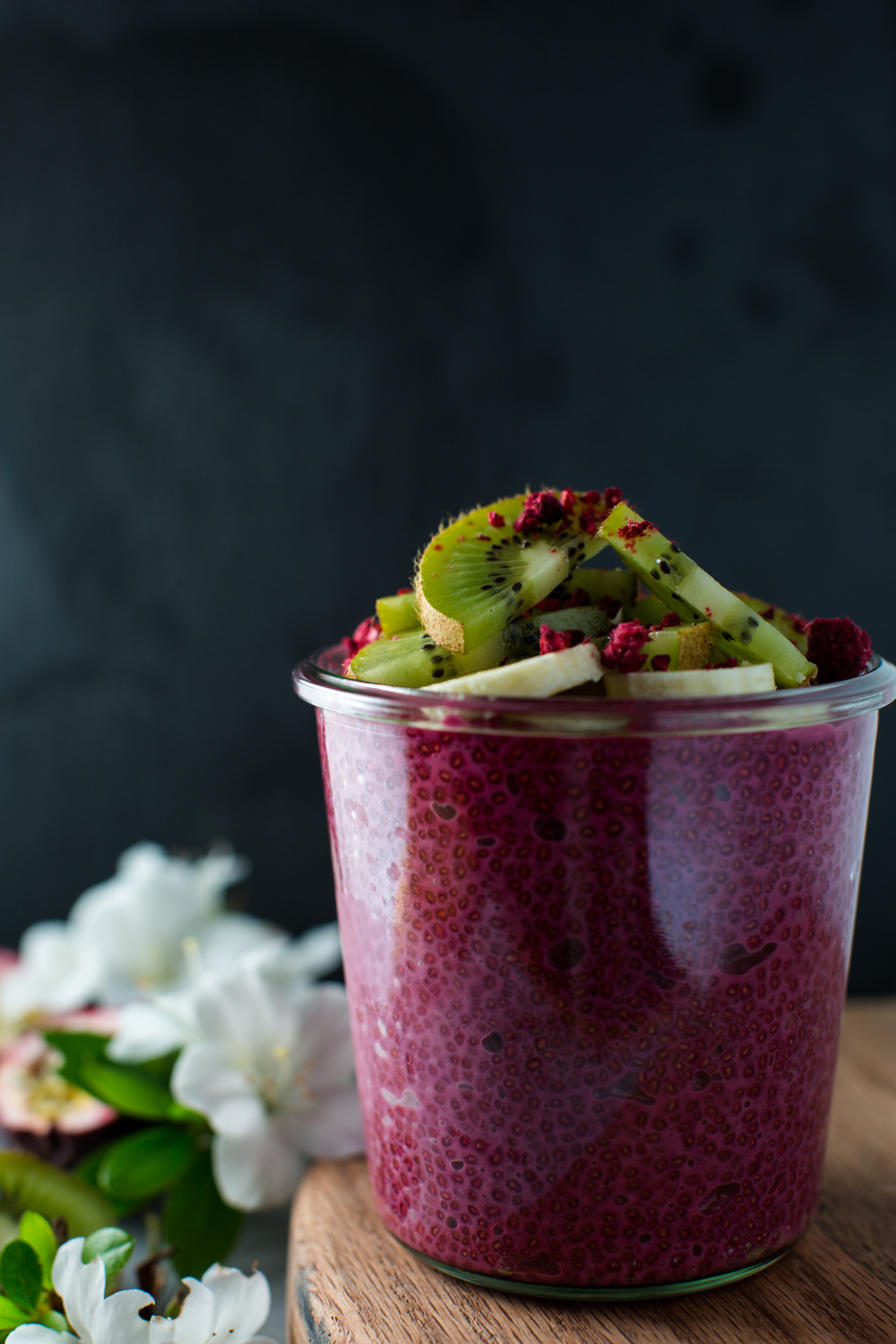 Pink-Chia-Pudding-with-Sweet-Beets | www.8thandlake.com
