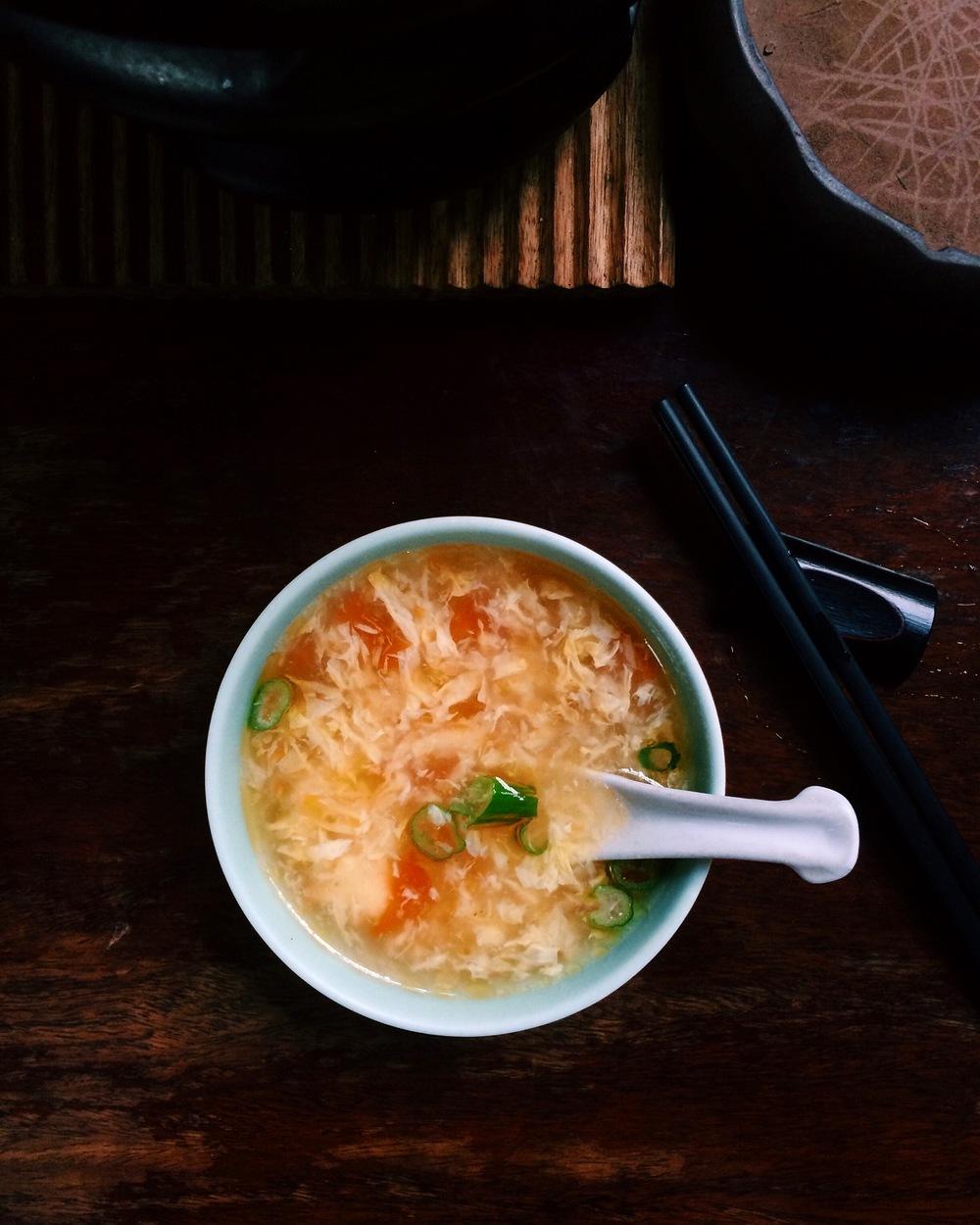 Soup at Ching Ching Cha