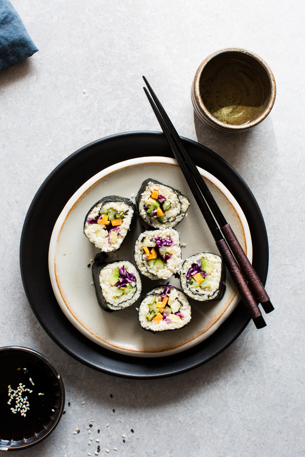 Cauliflower-Rice-Sushi | www.8thandlake.com