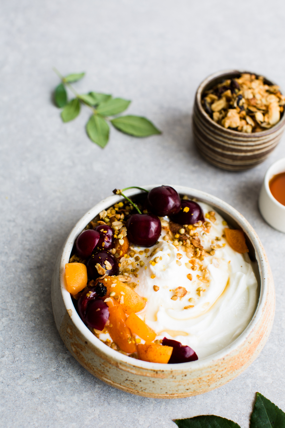 6-Stone-Fruit-Stew-with-Citrus-Granola | www.8thandlake.com