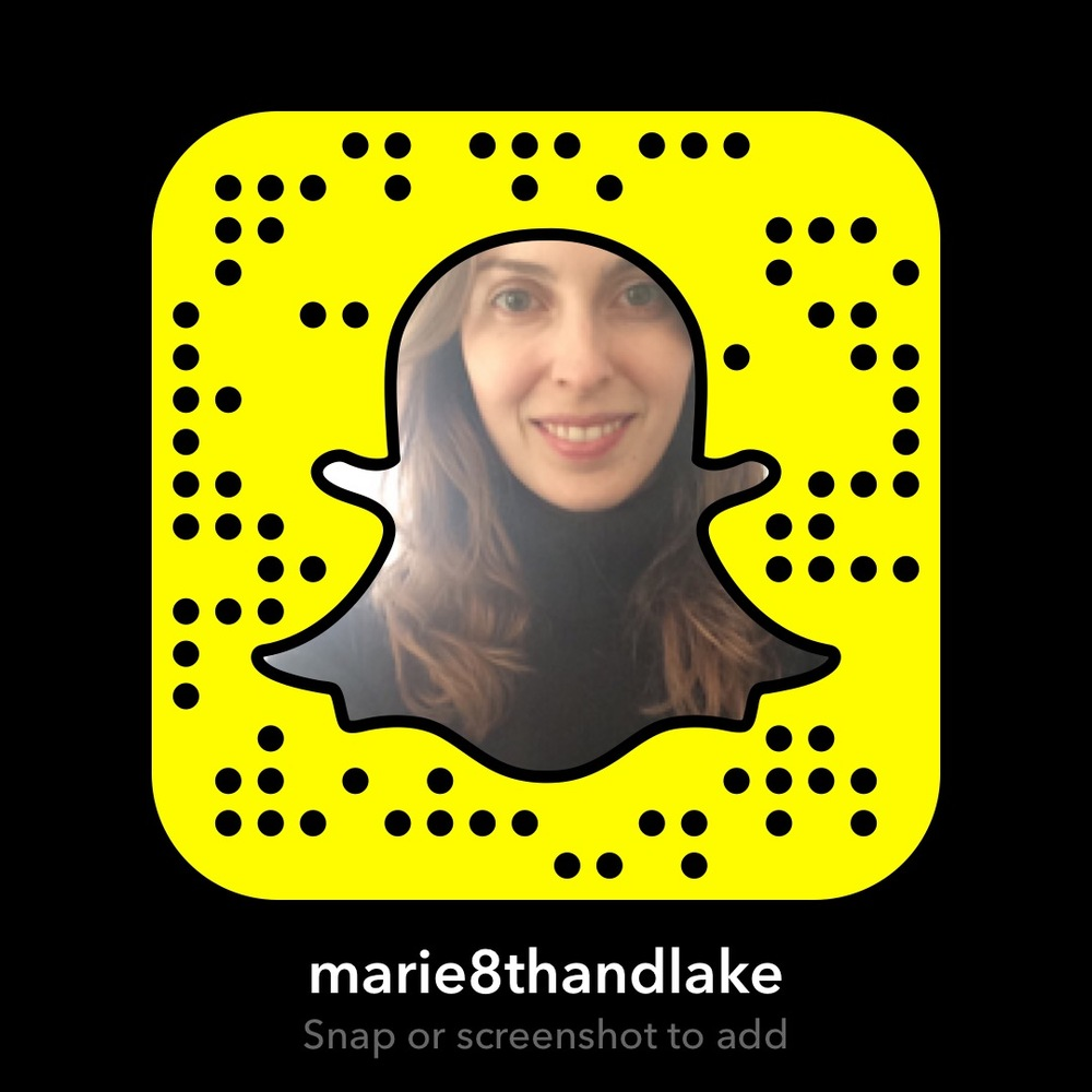 Scan to Find me on Snap