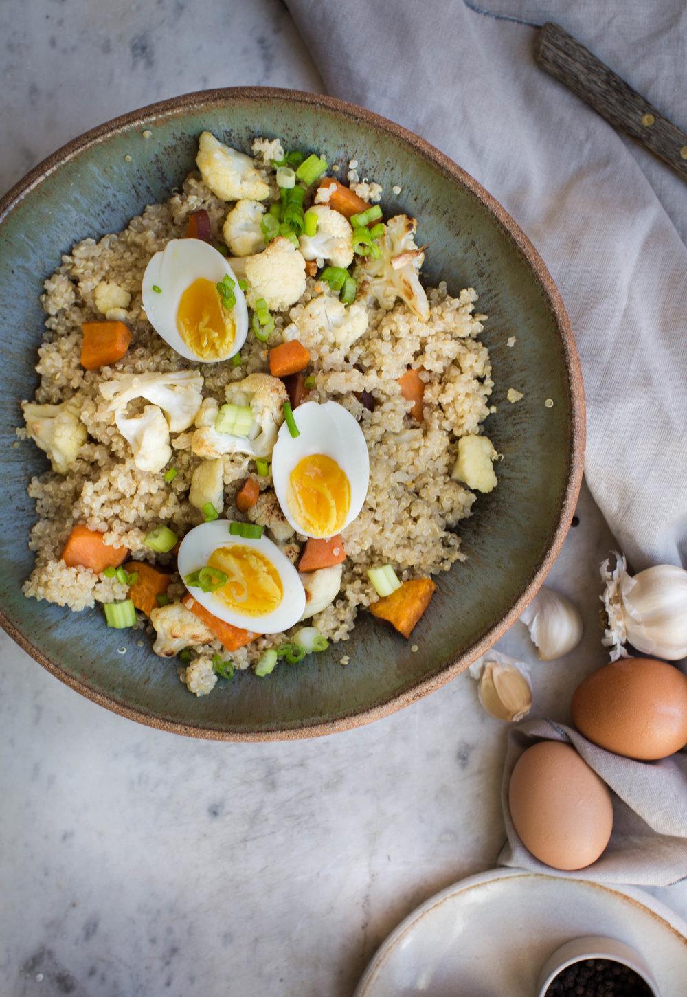 2-Sweet-Potato-Quinoa-Bowl-with-Sweet-Tahini-Dressing | www.8thandlake.com