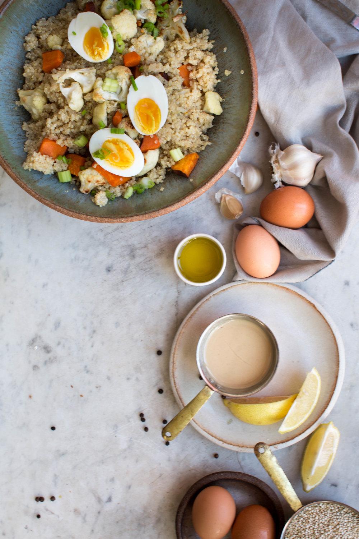 4-2-Sweet-Potato-Quinoa-Bowl-with-Sweet-Tahini-Dressing | www.8thandlake.com