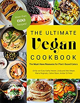 The Ultimate Vegan Cookbook - A collection of over 600 plant-based recipes! It's essentially the plant-based bible of cooking - everything you've ever needed to know about cooking vegetables is in here for your burning desire. I've contributed 100 nutritious and delicious recipes to this cookbook. I hope you enjoy it as much as my first!