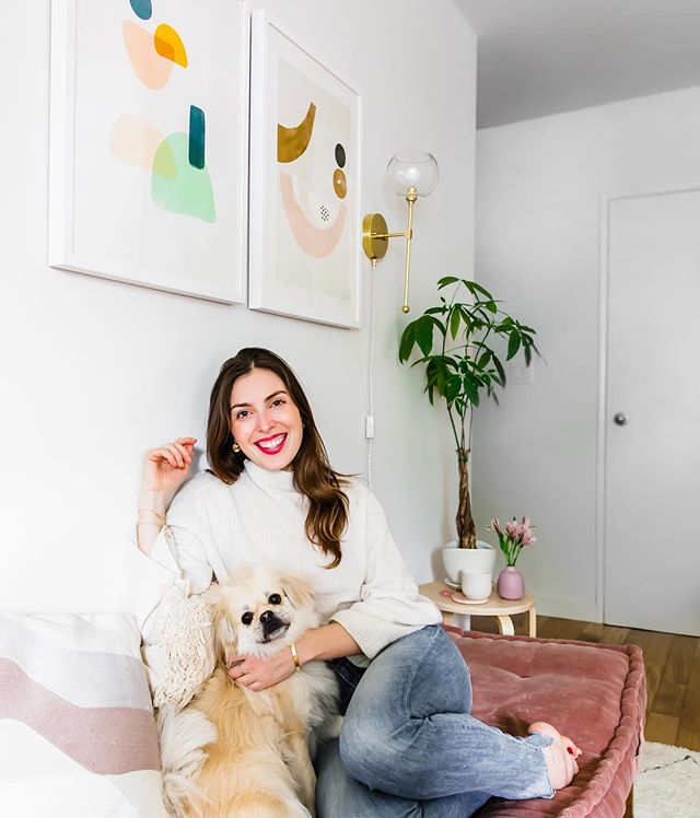 I once heard a great piece of advice - if you want to redo your house, just rearrange your art work - a.k.a. move them around to different walls🙌🏻 It's the quickest (and cheapest) way to freshen up your space. And since it's been one year that I moved to LA from home (hey SF 🙋🏻♀️) it's time to upgrade a few IKEA purchases because when I moved I literally bought the whole store front...as one does 🤣 Instead of going nuts and spending thousands of dollars on new furniture and things I probably don't need, I'm keeping it simple with just two things: new throw pillows and prints from @minted 🥰 ~ I swear just this simple change of adding art work or moving the placement of your art work helps freshen up the whole space. I picked up these two prints from @minted minted and I absolutely love the pops of color - keeps the space playful and young…and I'm sure in a year from now I'll be swapping the placement of both 😉 Do you guys have any home tips for freshening up a space? And thank you to @minted for the house-warming gifts ❤️ pic by the lovely @juliaensign