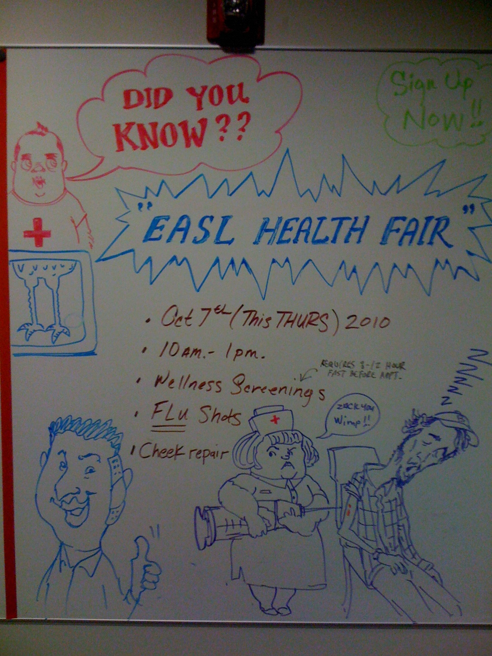 EASL Health Fair