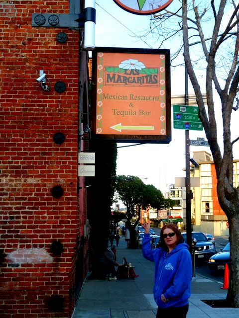 Our favourite restaurant in San Francisco! Las Margaritas