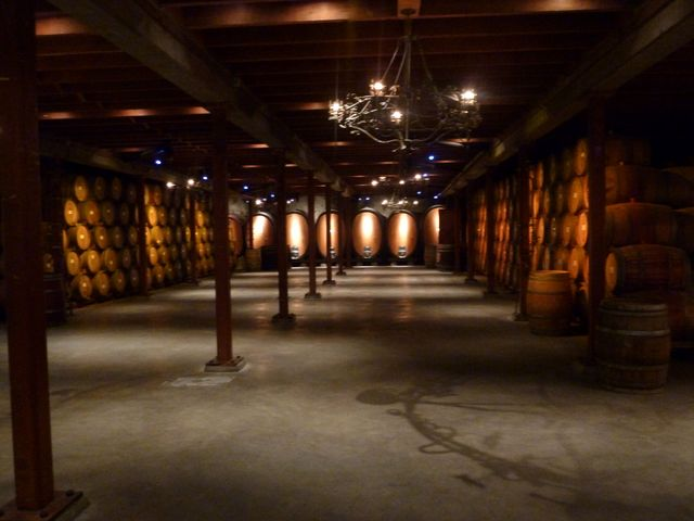 The cellar smelled wonderful