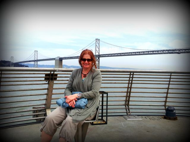 A fabulous day strolling around the piers along the bay - Pier 14 was a great find