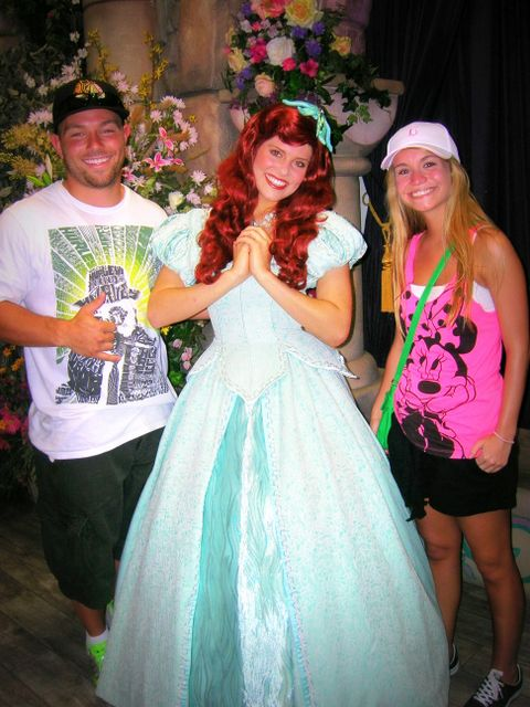 Chace, his cousin (who is a Disney princess!) and Sinead