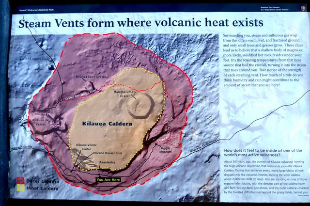 The whole place is rife with volcanic activity as magma flows underground