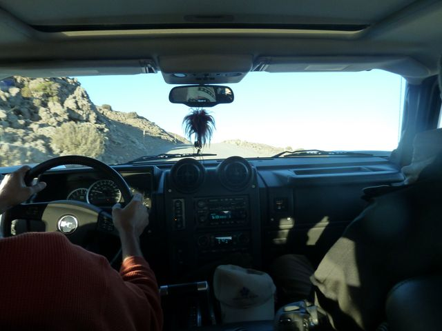 After two days of meetings, Henk drove us up to the peak on Mauna Kea - the tallest mountain in Hawaii