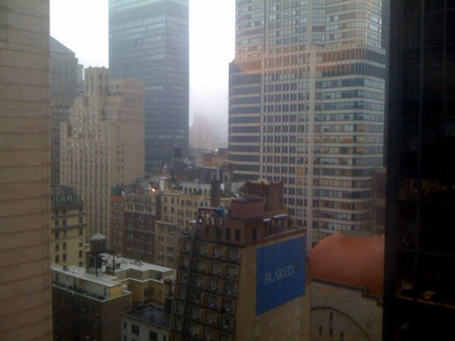 A few days later, I am in rainy New York City for meetings
