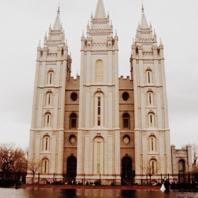 #Mormon Temple from my Salt Lake City visit a few years ago. #sacred #SLC