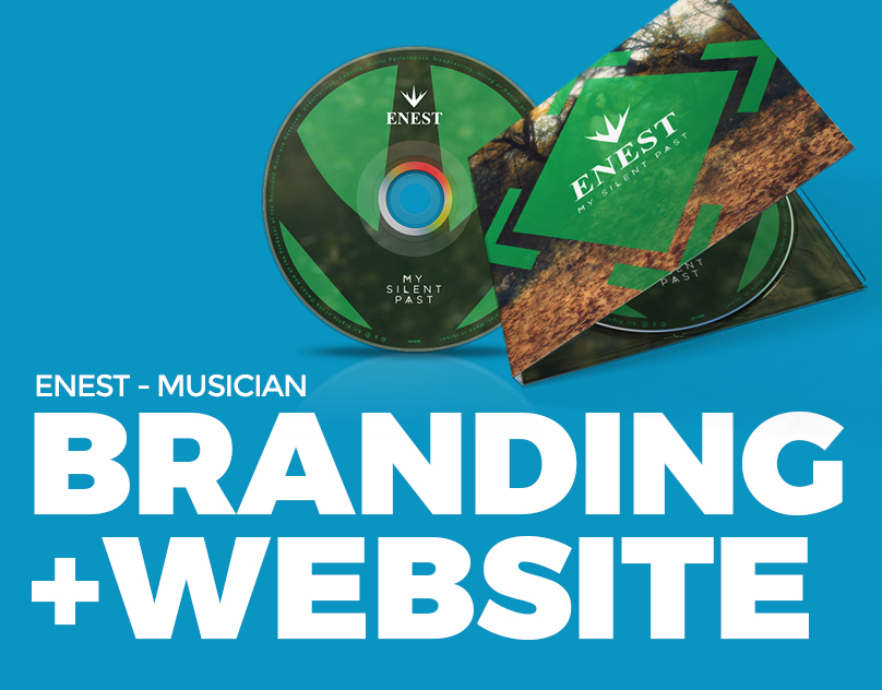 Enest - musician branding