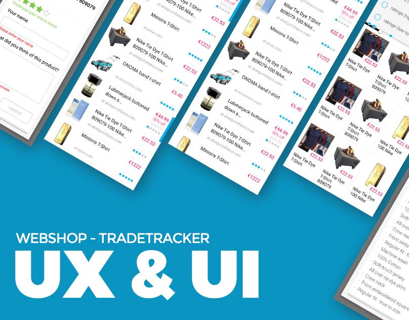 Webshop - Ecommerce UX&UI