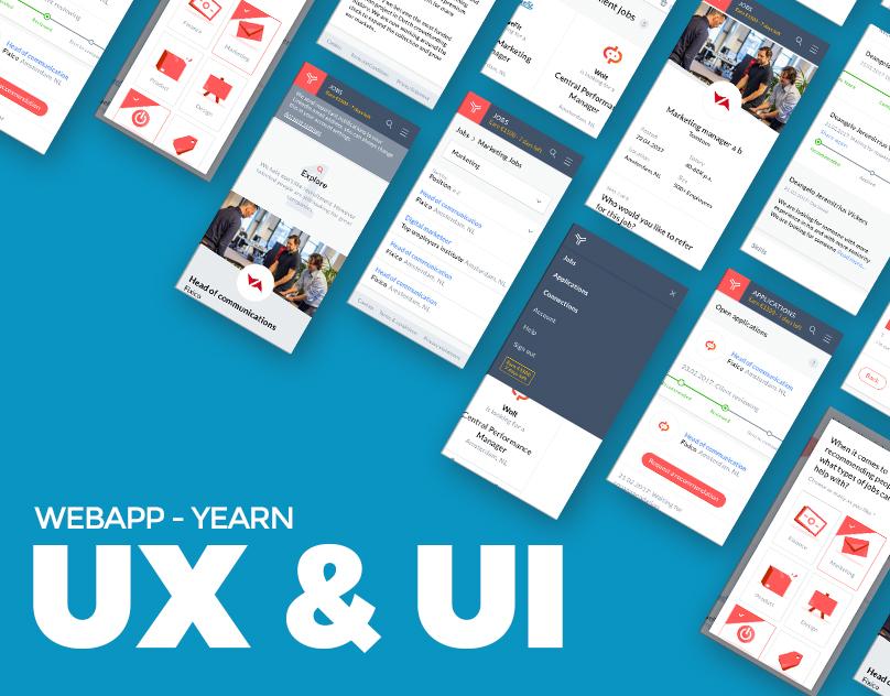 Webapp - Yearn - UX/UI