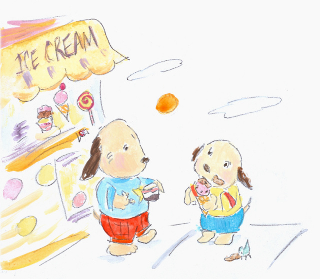 dogs ice_cream-allyn_howard_sketch.jpg