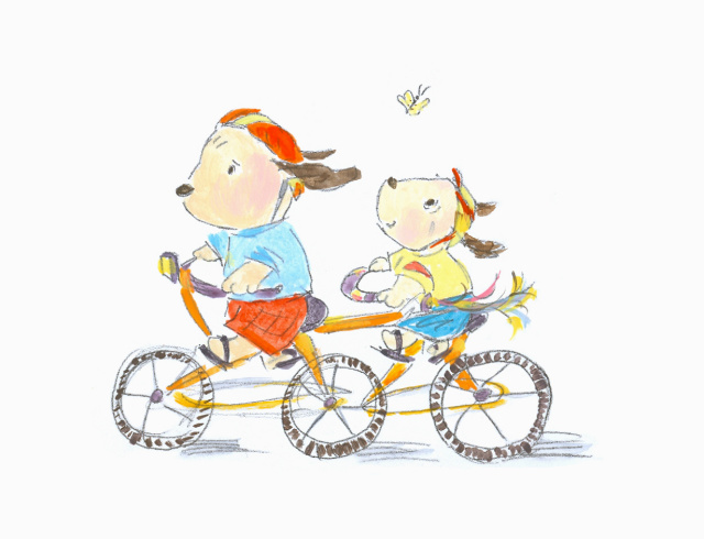 dogs_biking-allyn_howard_sketch.jpg