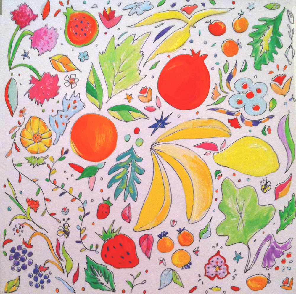 tropical fruits color_allyn_howard.jpg