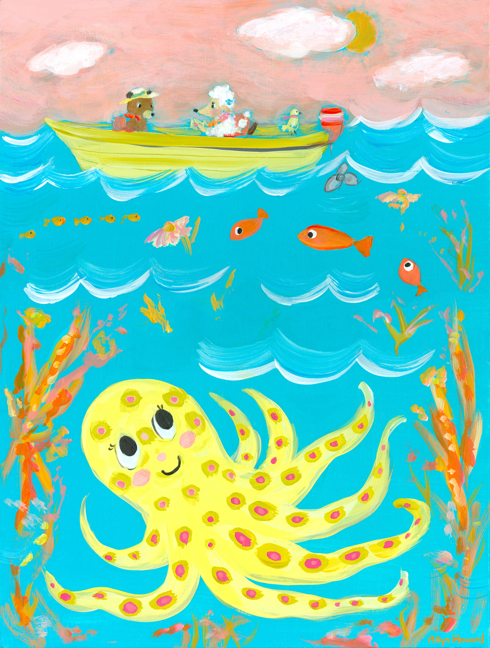 Octy under the sea - Allyn Howard