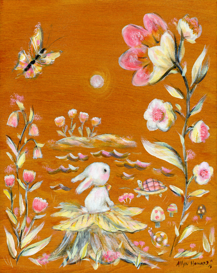 Bunny_gold_garden_Allyn_Howard