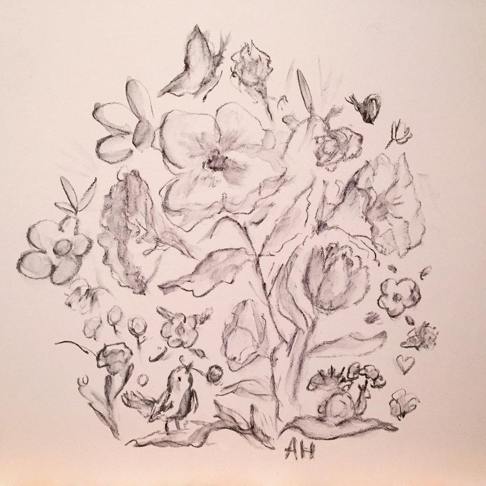 Allyn_Howard_floral-bird_initial-drawing.jpg