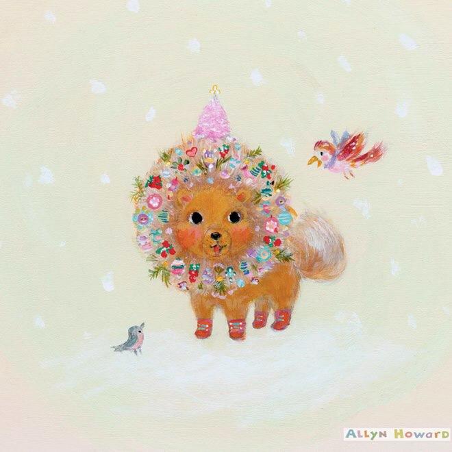 2018-12-15 Pomeranian_pup_decorated_Illo.jpg