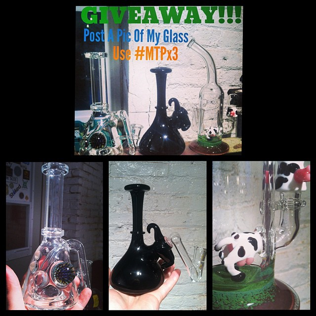 Tomorrow is the last day to enter my MTPx3 giveaway.  Don't miss out!! #mtpglass #glassofig #eastcoastdabbers #dabbadoo
