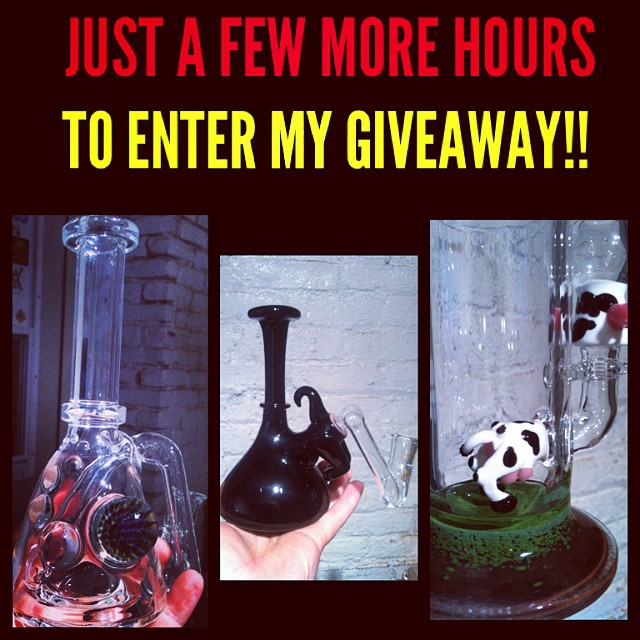 Just a few more hours left in my giveaway!! Don't miss out!  #mtpglass #glassofig