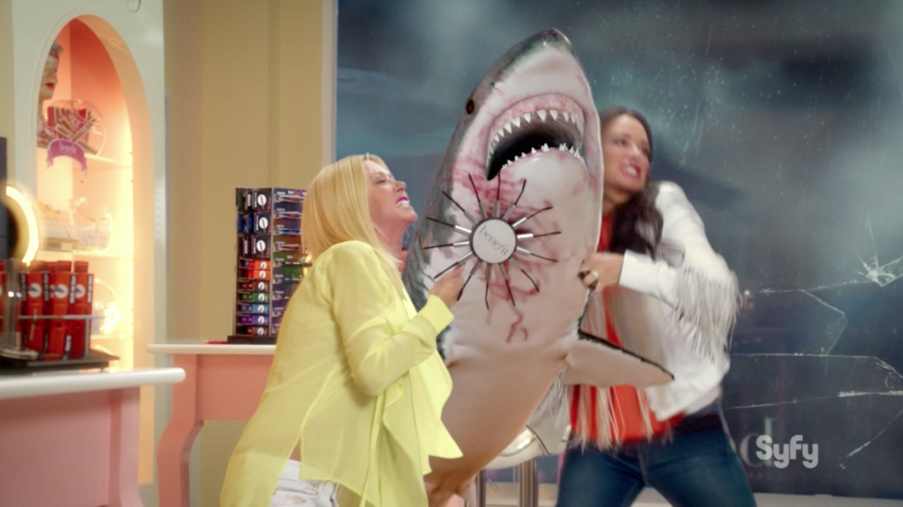 Benefit Cosmetics vs. The Sharknado