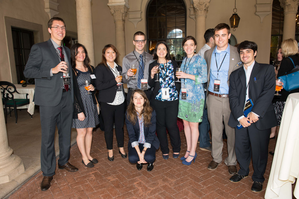 The Caltech Space Challenge Participants enjoying themselves after the presentations.