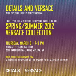 DETAILS AND VERSACE SUPPORT MHI