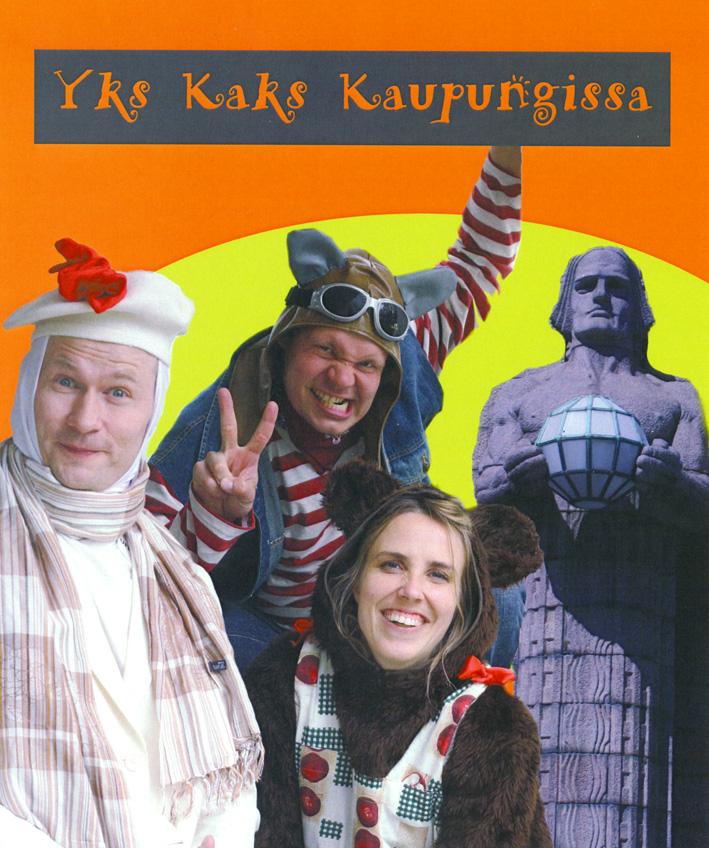 Karo Lauronen, Antti Laukkarinen, Anna Ranta. Kuva: Antti Rahtu