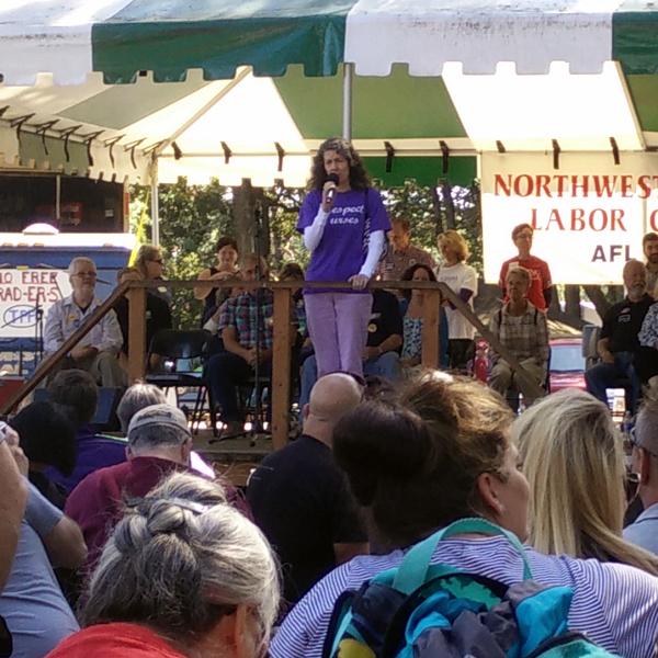 Portland City Commissioner, Amanda Fritz